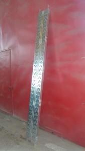 μεταλλικό μαδέρι 15mm με ενίσχυση Ii 169x300